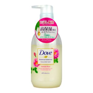 Dove Botanical Bodywash 450g Damask Rose