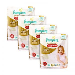 Pampers Premium Care Active Baby Pants XX-Large 28S (4Packs)