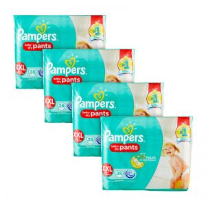 Pampers Baby-Dry Pants XX-Large 28S(4Packs)