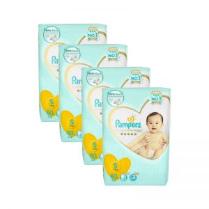 Pampers Premium Care Tape Diapers Small 60S (1Carton=4Pack)
