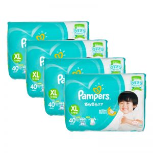 Pampers Baby-Dry Diapers X-Large 40s (1Carton=4pack)
