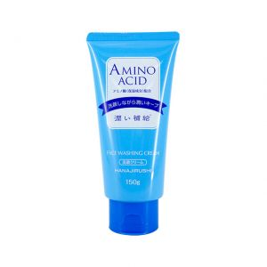 Hanajirushi Amino Acid Face Washing Cream 150g