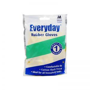Everyday Rubber Gloves (1pair) Medium Size
