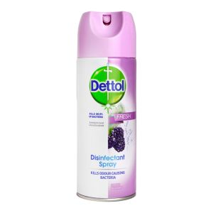 Dettol Disinfectant Spray 400ml Fresh Berries