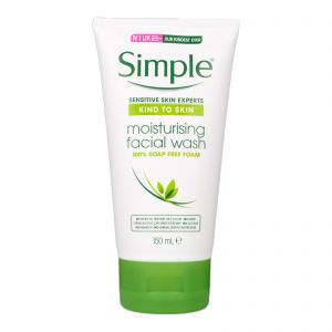 Simple Kind To Skin Moisturising Facial Wash 150ml