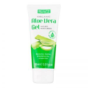 Beauty Formulas Organic Aloe Vera Gel 100ml