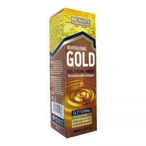 Beauty Formulas Revitalising Gold Gel Facial Mask 100ml