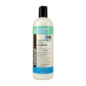 Natural World Coconut Water 500ml Conditioner