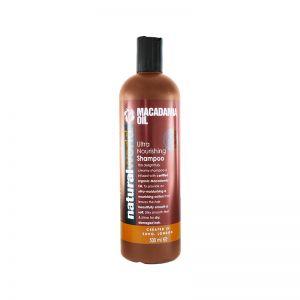 Natural World Macadamia Oil Ultra Nourishing Shampoo 500ml