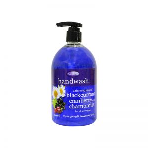 Pampered Handwash 500ml Blackcurrant, Cranberry & Chamomile