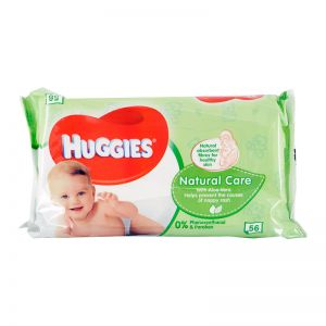 Huggies Baby Wipes 56S Natural Care
