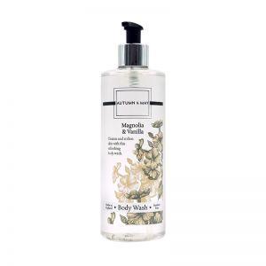 Autumn & May Body Wash 500ml Magnolia & Vanilla