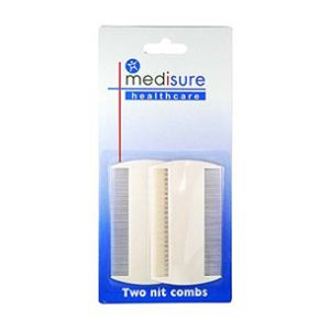 Medisure Two Nit Combs Set