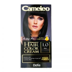 Cameleo Perm Hair Colour Cream 1.0 Black