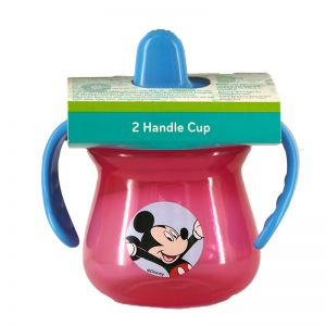 Mickey 2-Handle Cup (Assorted Colours)