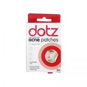 Dotz Clear Hydrocolloid Acne Patches 24s