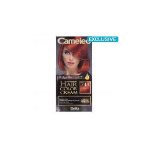 Cameleo Perm Hair Colour Cream 7.44 Copper Red