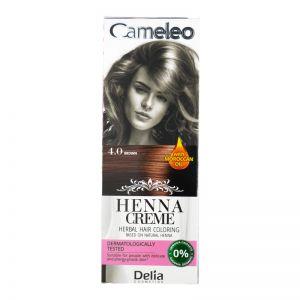 Cameleo Herbal Hair Coloring Cream 4.0 Brown
