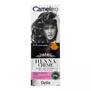 Cameleo Herbal Hair Coloring Cream 3.3 Chocolate Brown