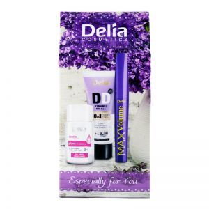 Delia Purple Gift Set Max Volume 12ml + Face Eye Lip Makeup Remover Lotion