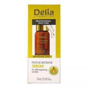 Delia Face & Neckline Serum 10ml Brightening