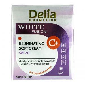 Delia White Fusion Illuminating Soft Day Cream SPF30 50ml