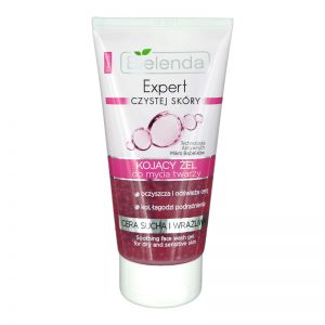 Bielenda Expert Soothing Face Wash Gel 150g For Dry & Sensitive Skin