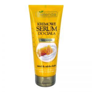 Bielenda Moisturizing Body Serum 200ml Honey & Goat Milk