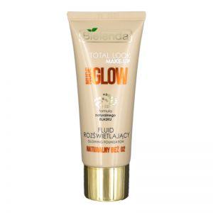 Bielenda Total look Make - Up Nude Glow Fluid 30g Glowing Foundation 02