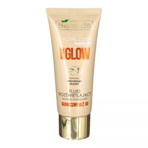 Bielenda Total Look Make - Up Nude Glow Fluid 30g Glowing Foundation 03