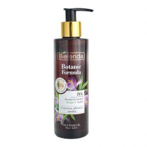 Bielenda Botanic Formula 95% Face Wash Gel 200ml Hemp + Saffron