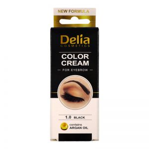 Delia Eyebrow 1.0 Black Colour Cream 15ml