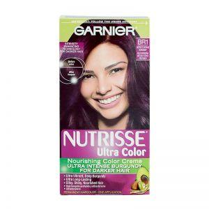 Garnier Nutrisse Ultra Color Nourishing Color Creme BR1 Deepest Intense Burgundy