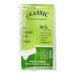 Classic Quality Disposable Briefs 7S L