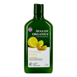 Avalon Organics Shampoo 325ml Clarifying Lemon