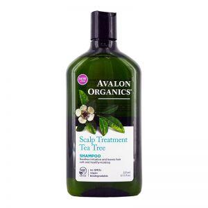 Avalon Organics Shampoo 325ml Scalp Treatment Tea Tree