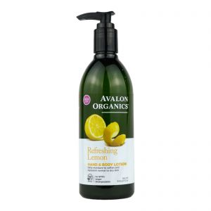 Avalon Organics Hand & Body Lotion 340g Lemon