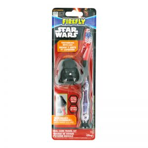 Firefly Kids Toothbrush w/cap Starwars Travel Kit