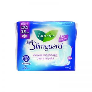 Laurier Super Slimguard Heavy Night Winged 35cm 8S