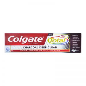 Colgate Toothpaste Total Professional 150g Charcoal Deep Clean