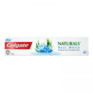 Colgate Naturals Toothpaste 120g Real White