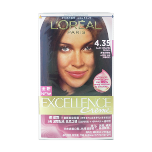 L'Oreal Excellence Crème 4.35 D Caramel Brown