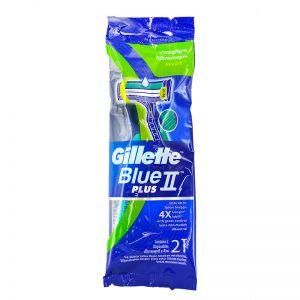 Gillette Blue II Plus Pivot 2s