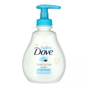Dove Baby Head To Toe Wash 200ml Rich Moisture