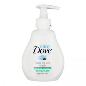Dove Baby Head To Toe Wash 200ml Sensitive Moisture