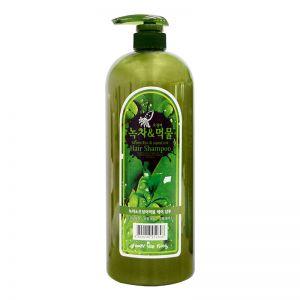 Seeds & Farm Green Tea and Squid Ink Hair Shampoo 1500g