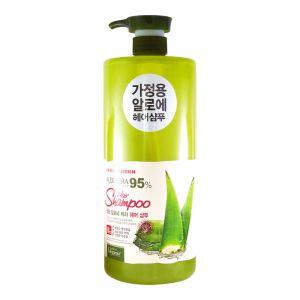 White Organia Aloe Vera 95% Hair Shampoo 1500g
