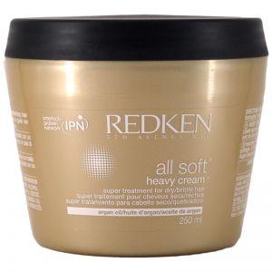 Redken All Soft Heavy Cream 250ml With Argan Oil