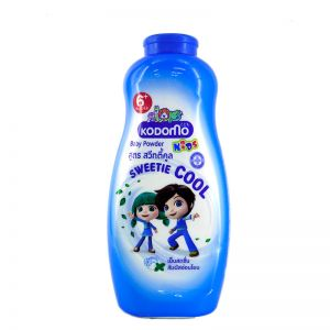 Kodomo Baby Powder 400ML Sweetie Cool Blue for Kids