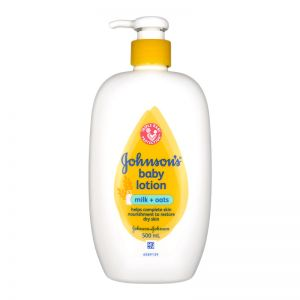 Johnson's Baby Lotion 500ml Milk + Oats